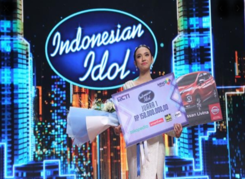 Lyodra Ginting Resmi Jadi Juara Indonesian Idol X